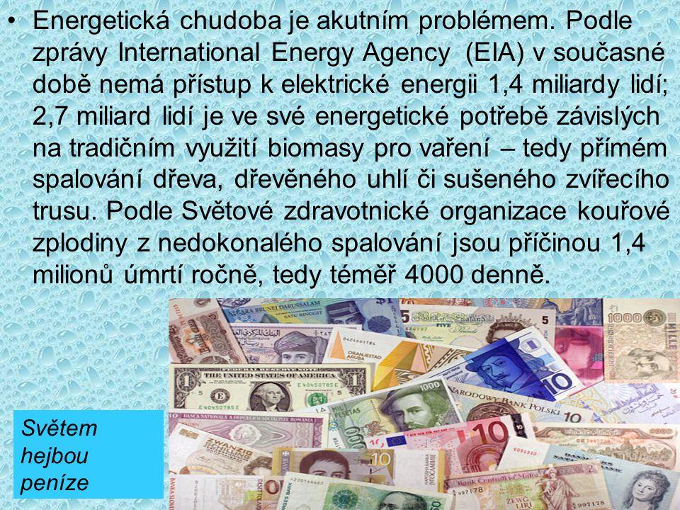 Energetická chudoba je akutním problémem.