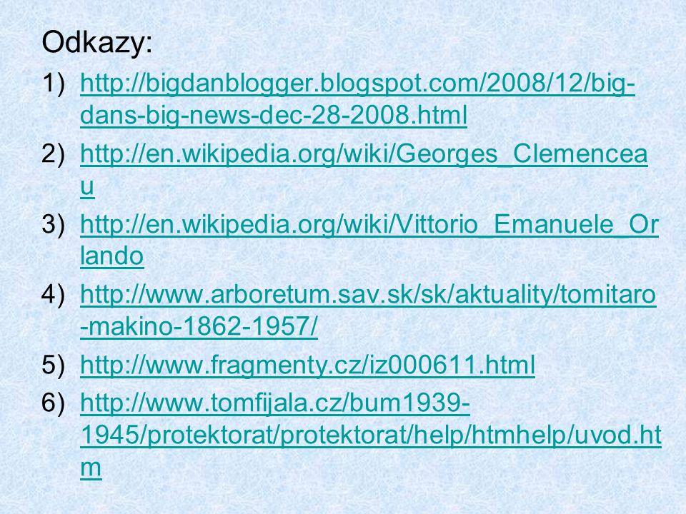 Odkazy: 1)http://bigdanblogger.blogspot.com/2008/12/big- dans-big-news-dec-28-2008.htmlhttp://bigdanblogger.blogspot.com/2008/12/big- dans-big-news-de