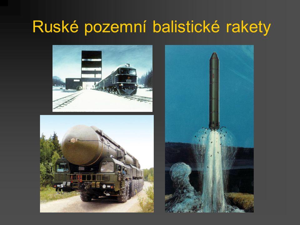 Ruské pozemní balistické rakety