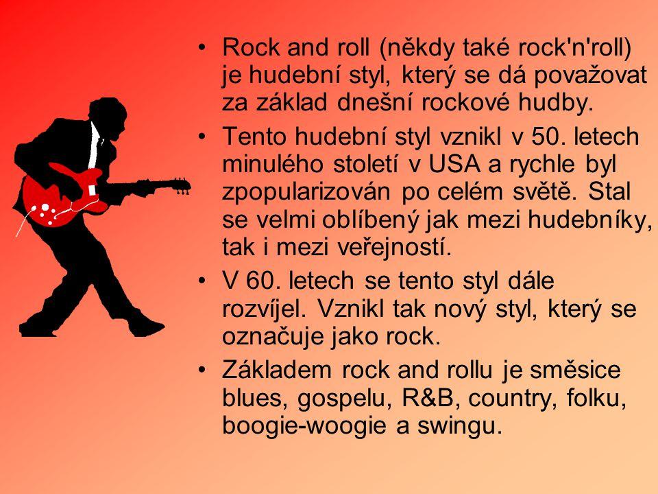Rock and roll (někdy také rock'n'roll) je hudební styl, který se dá považovat za základ dnešní rockové hudby. Tento hudební styl vznikl v 50. letech m