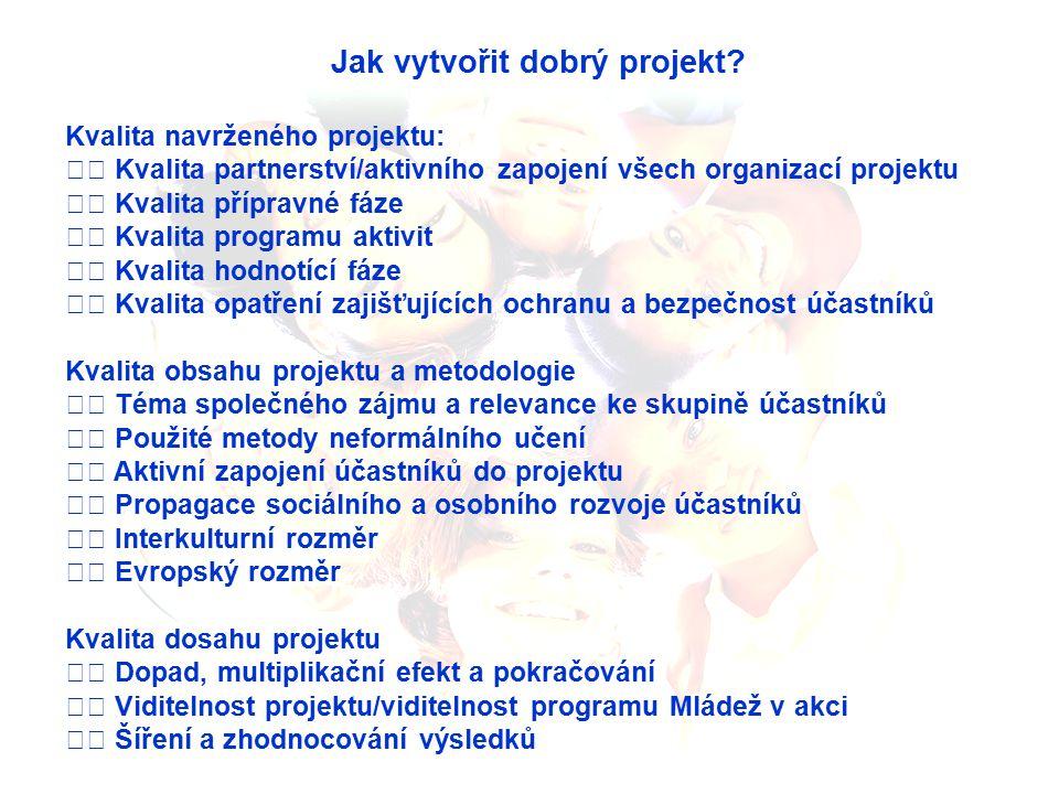 Jak vytvořit dobrý projekt.