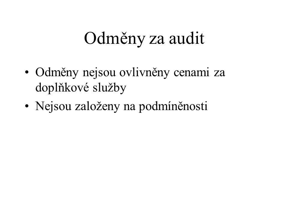 """Auditorské standardy Použití mezinárodních auditorských standardů """"přijatých komisí postupem dle čl."""