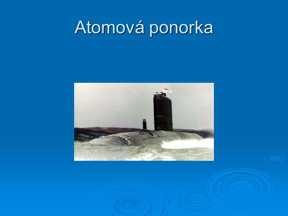 Atomová ponorka