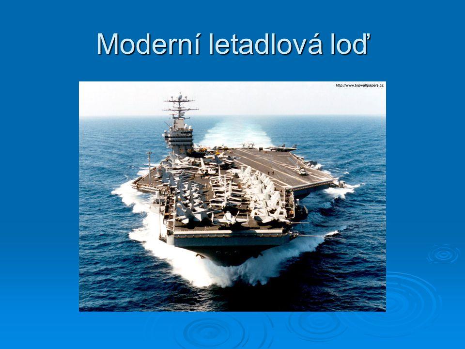 Moderní letadlová loď
