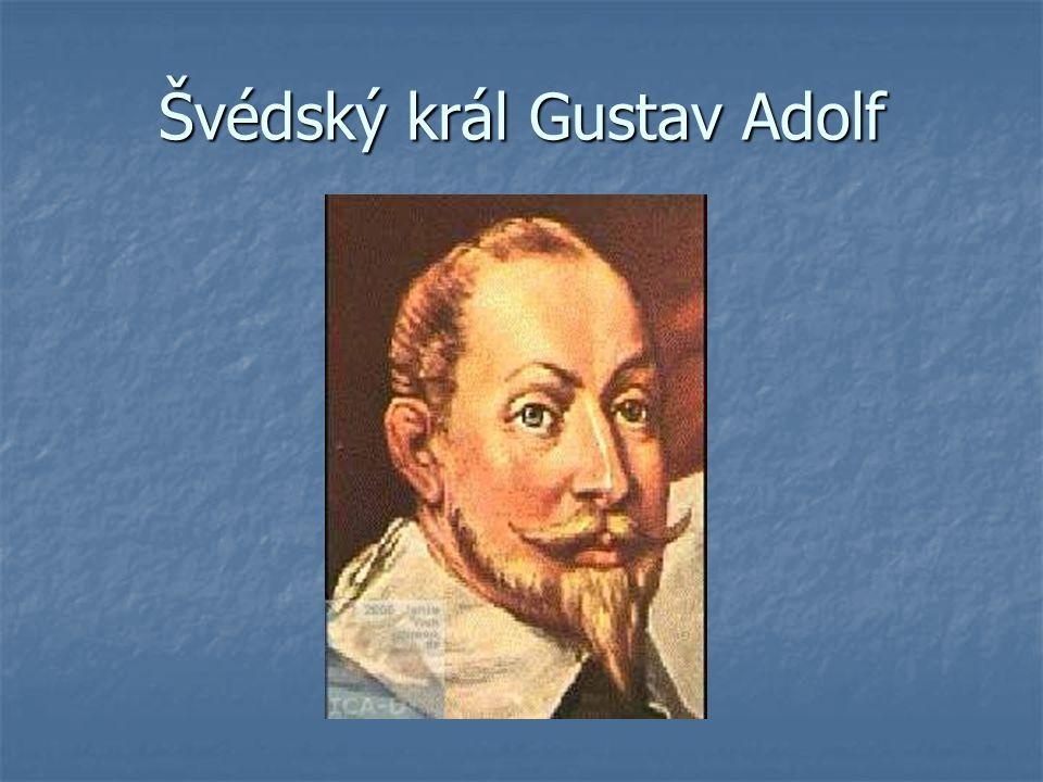 Švédský král Gustav Adolf