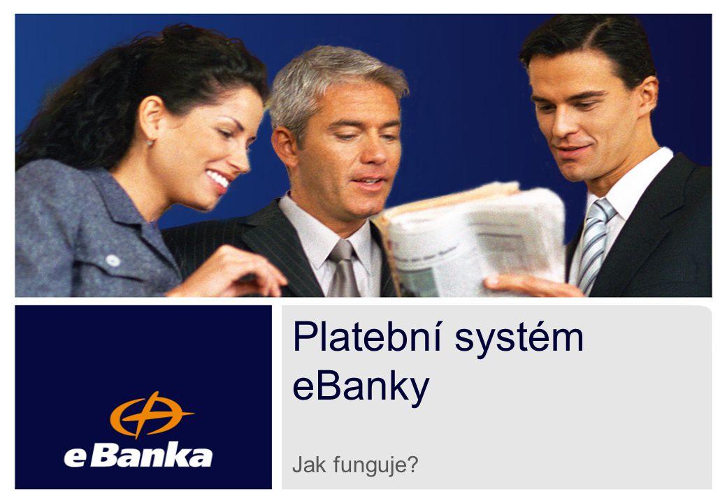 2 Co je to Platební systém eBanky? Po platbě dobírkou nejrozšířenější platební systém na českém internetu Doposud jej aktivovalo přes 790 společností