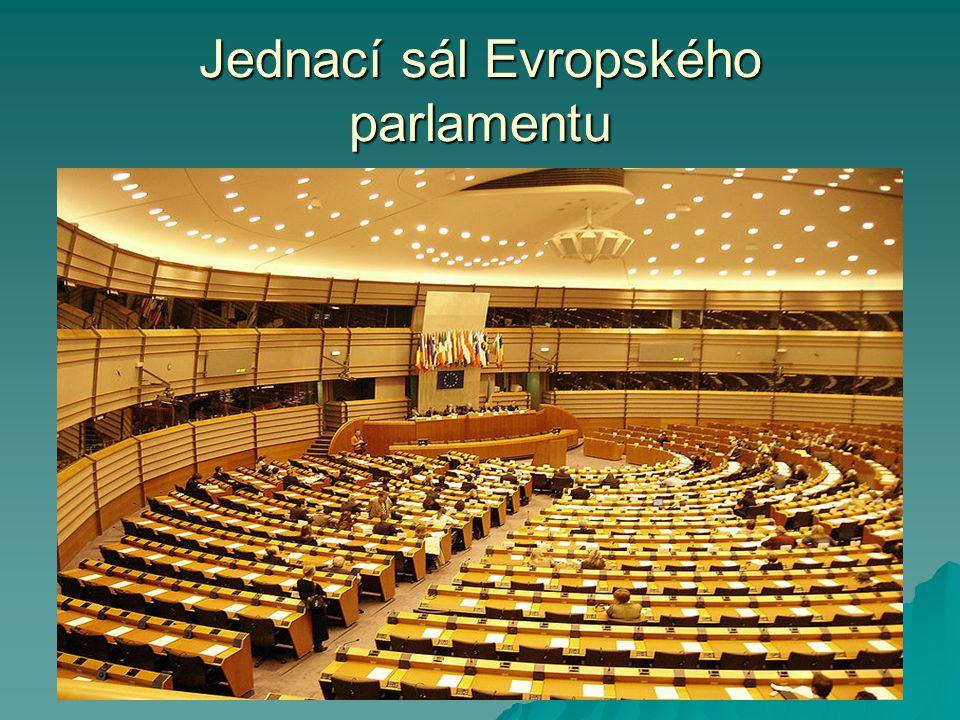 Jednací sál Evropského parlamentu