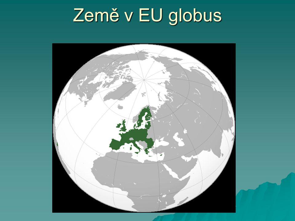 Země v EU globus