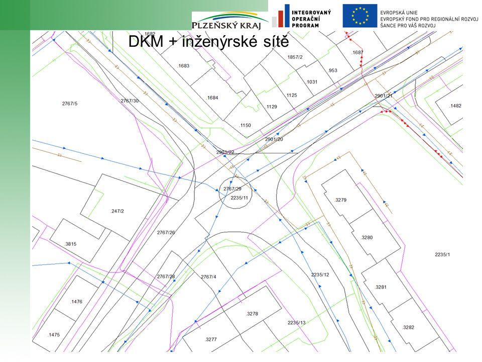 8 DKM + inženýrské sítě
