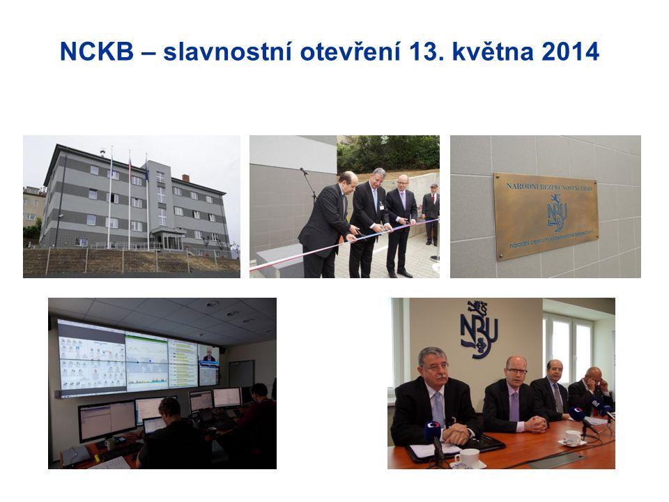 NCKB – slavnostní otevření 13. května 2014