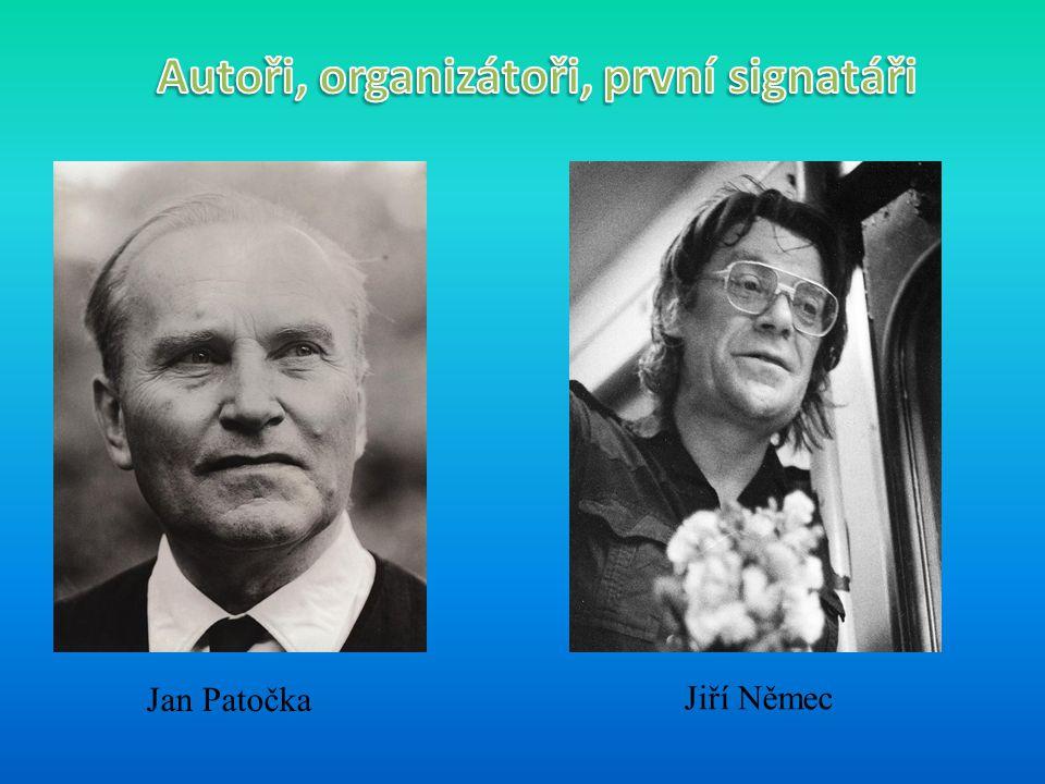 Jan Patočka Jiří Němec