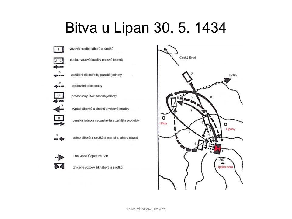 Bitva u Lipan 30. 5. 1434 www.zlinskedumy.cz