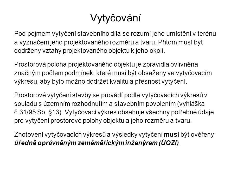 Zákon 183/2006 Sb.+ příslušné vyhlášky Zákon č.