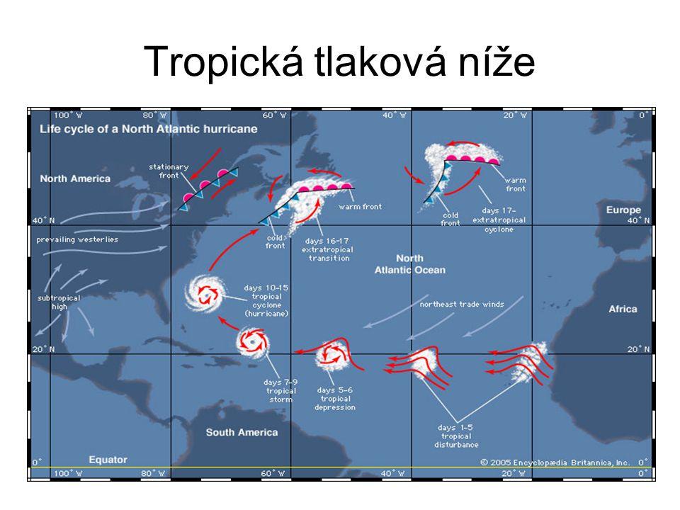 Tropická tlaková níže