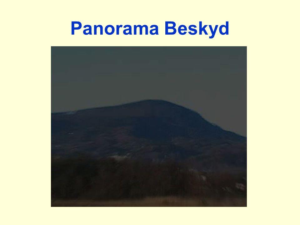 Panorama Beskyd