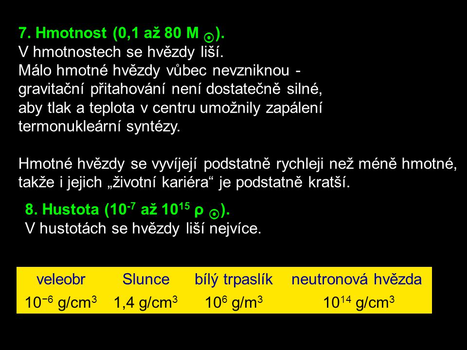 6.Rozměr (10 km až 1000 R Slunce ).