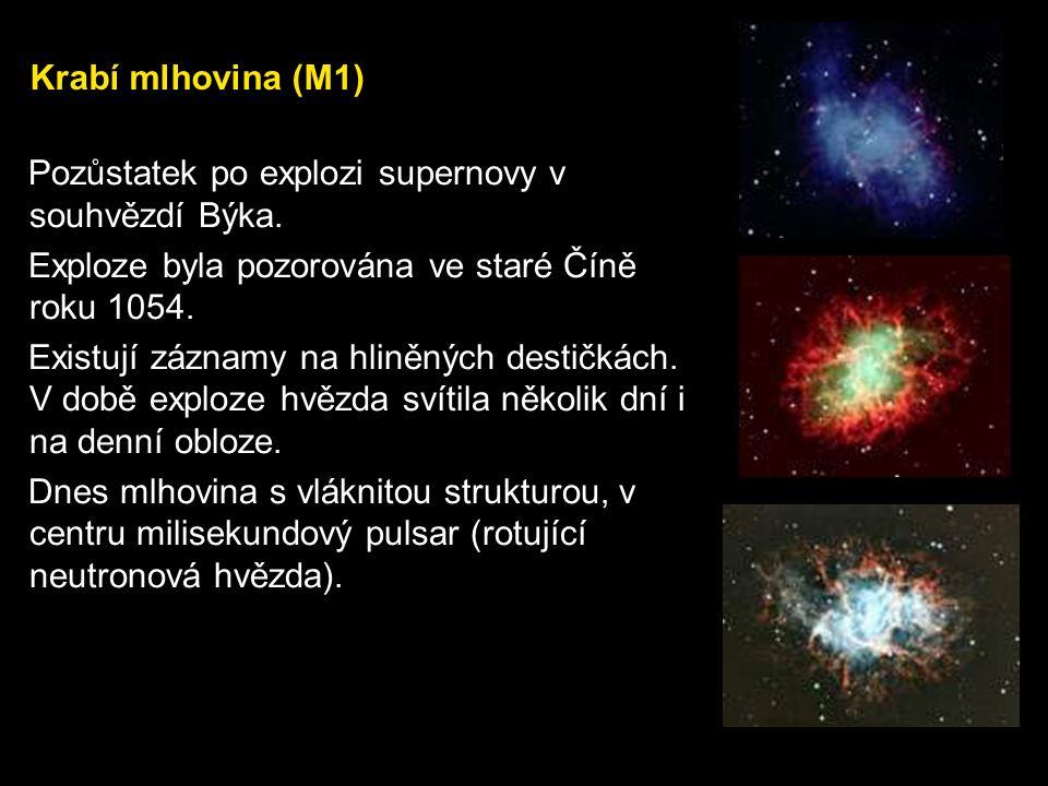 Nestabilní stadia, exploze Novy V této fázi hvězda ztrácí své obaly, odhazuje obálku (104 km/s), vytváří efekt novy.