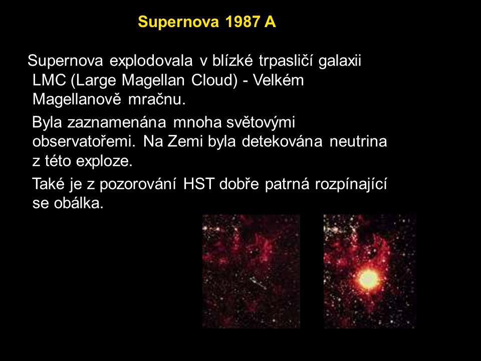 Krabí mlhovina (M1) Pozůstatek po explozi supernovy v souhvězdí Býka.