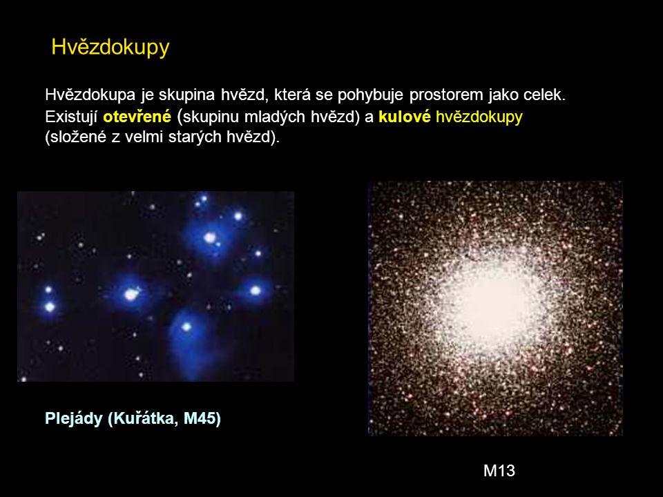 5. Hierarchie hvězd Osamocená hvězda jako je naše Slunce je spíše výjimkou Dvojhvězdy Sirius A+B