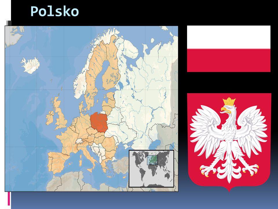Polsko  Oficiální název Polská republika (Rzeczpospolita Polska)  Polsko hraničí s Německem na západě, s Českem a Slovenskem na jihu, Běloruskem a Ukrajin ou na východě a s Litvou a Ruskem (Kalining radská oblast) na severu
