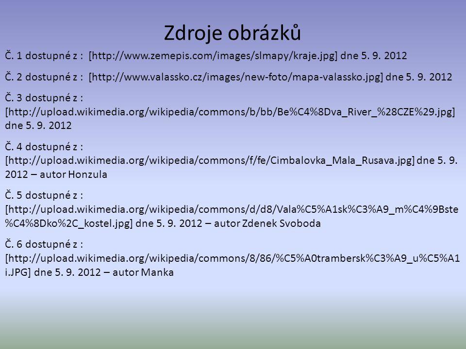 Zdroje obrázků Č.1 dostupné z : [http://www.zemepis.com/images/slmapy/kraje.jpg] dne 5.