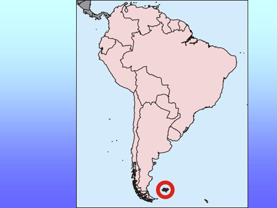 Souostroví Falklandy jsou zámořským územím Velké Británie.