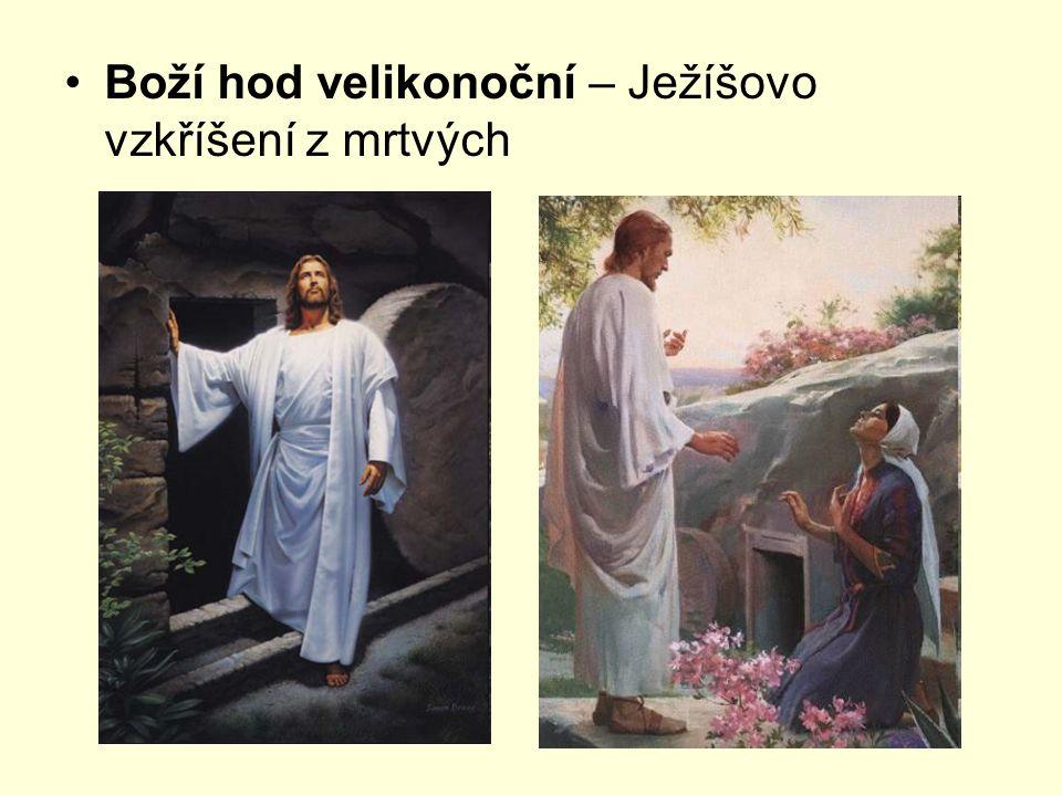 Boží hod velikonoční – Ježíšovo vzkříšení z mrtvých