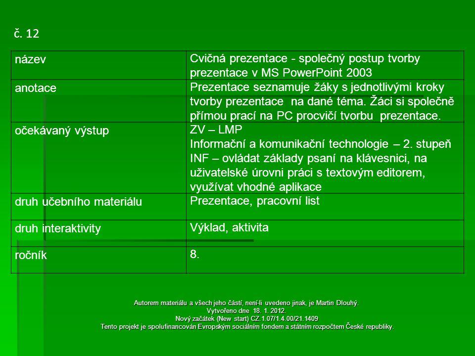 Úkol: Společná tvorba prezentace na téma Velikonoce Postup:  Spuštěním programu PowerPoint se objeví na ploše první prázdný snímek prezentace většinou jen pro nadpis.