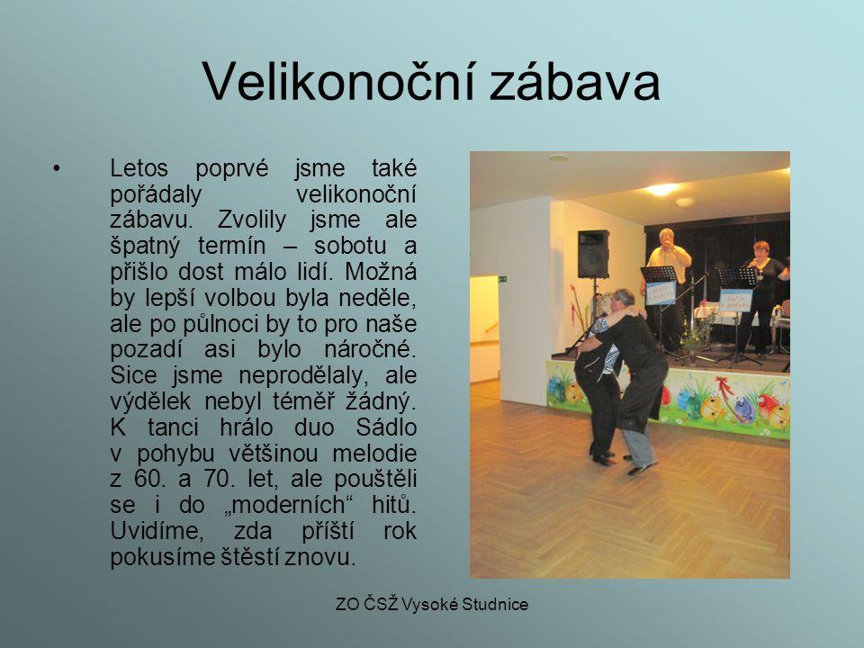 ZO ČSŽ Vysoké Studnice Vítání dětí Každý rok na jaře pořádá obec vítání nových občánků.