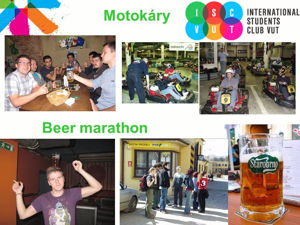 Beer marathon Motokáry