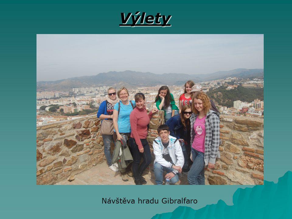 Výlety Návštěva hradu Gibralfaro