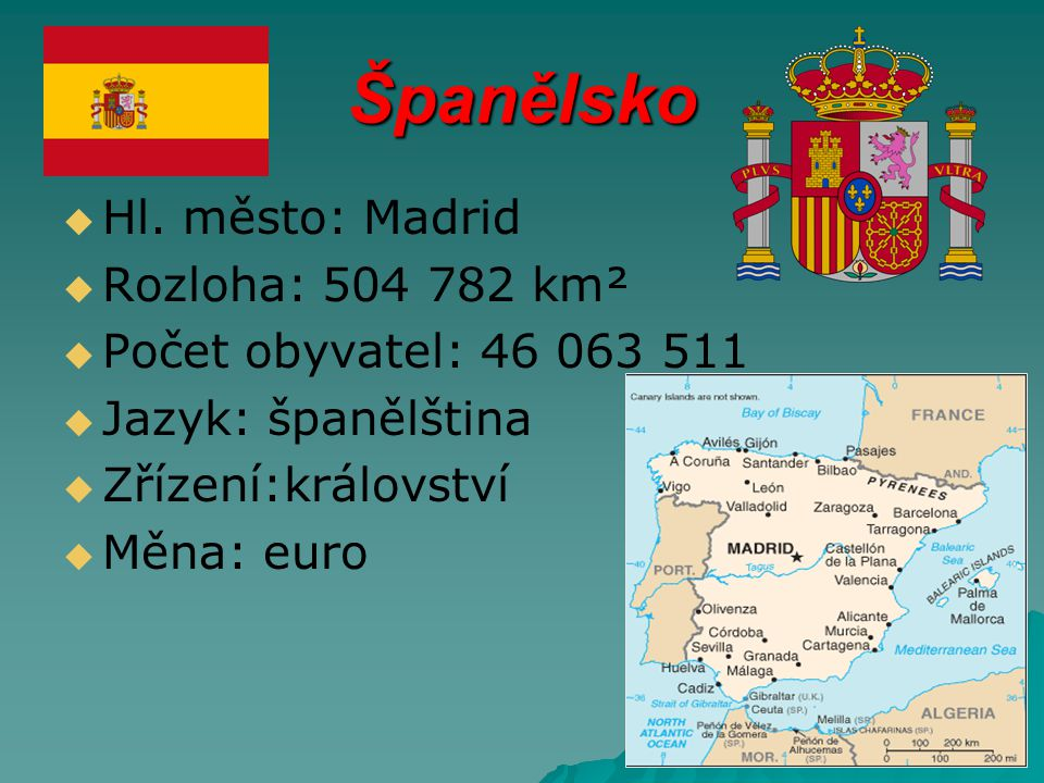 Španělsko   Hl.