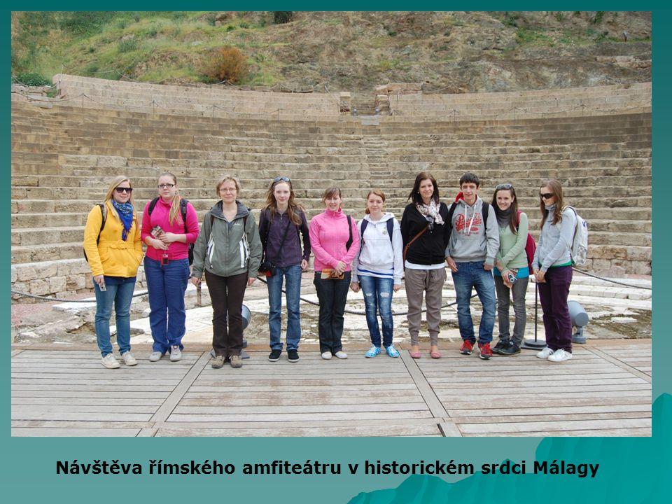 Návštěva římského amfiteátru v historickém srdci Málagy