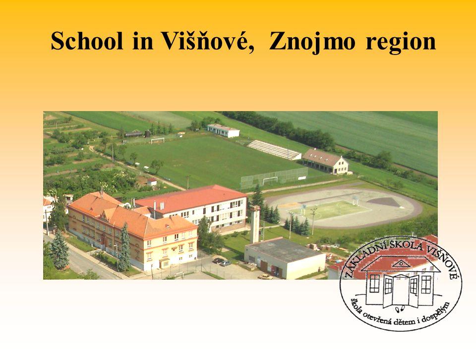 School in Višňové, Znojmo region