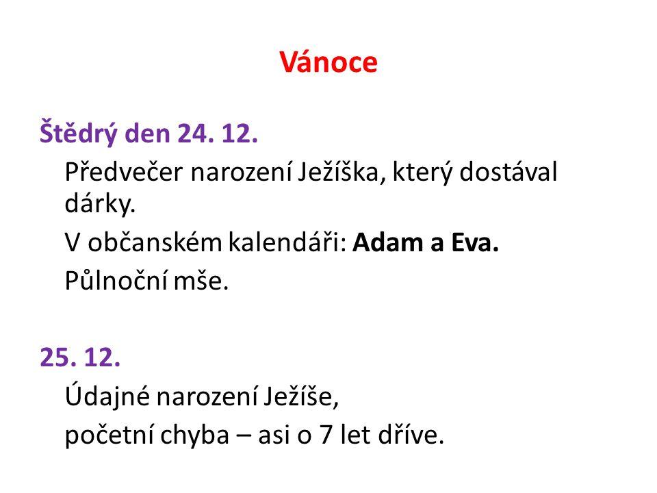 Silvestr 31.12.