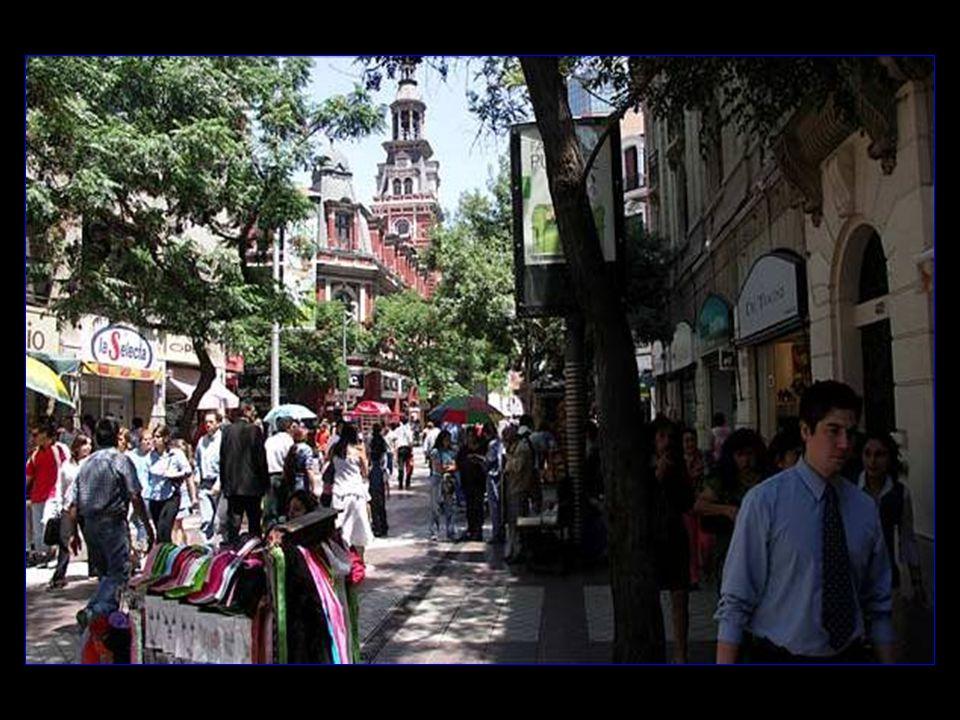 Santiago - městské centrum