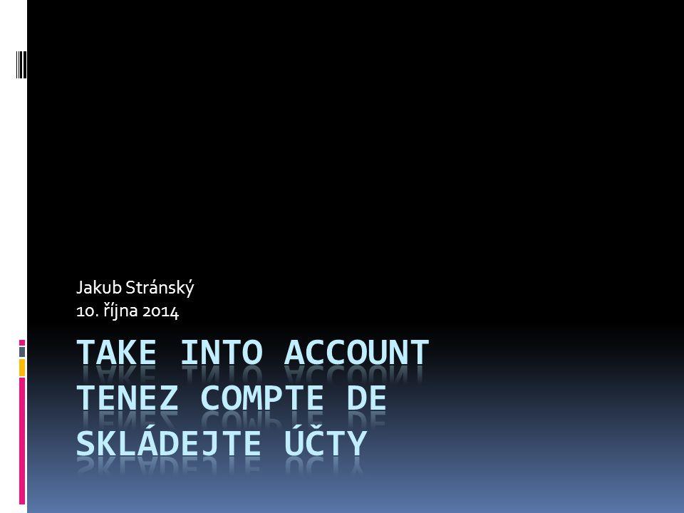 Jakub Stránský 10. října 2014