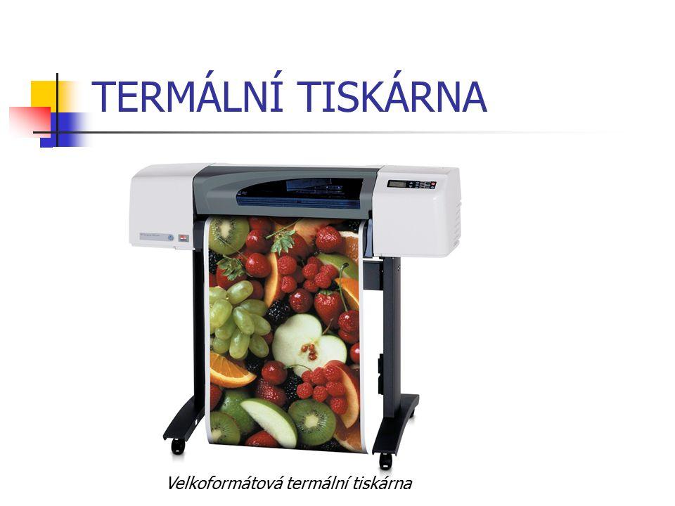 TERMÁLNÍ TISKÁRNA Velkoformátová termální tiskárna