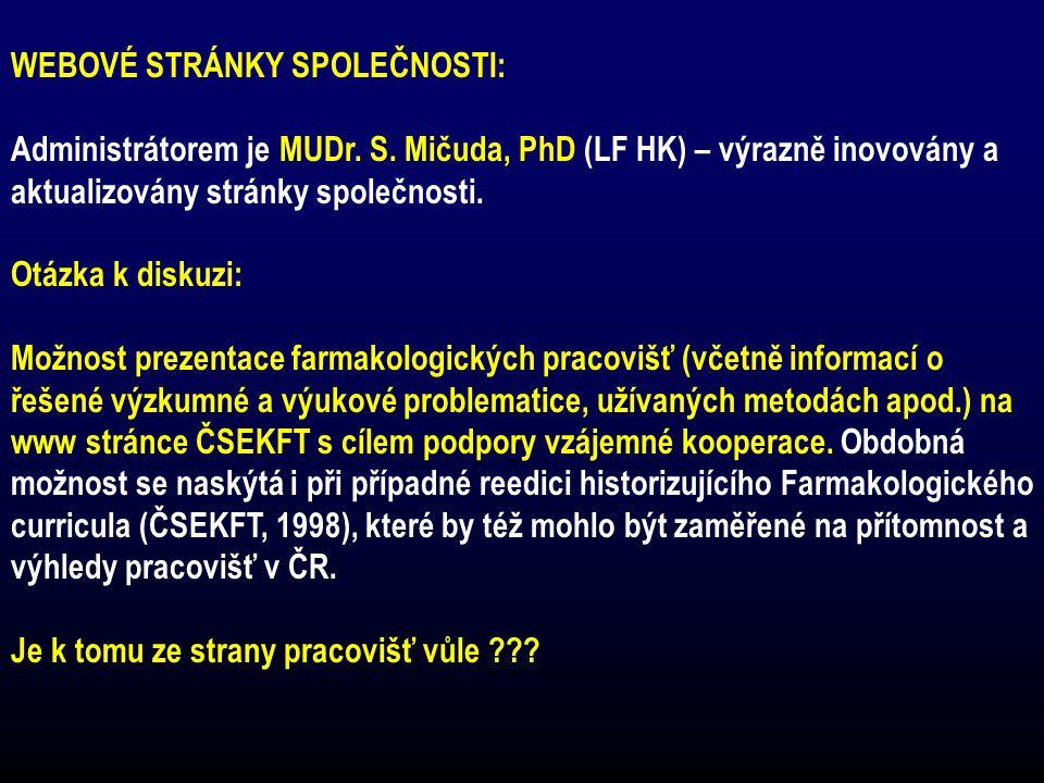 SOUTĚŽ O NEJLEPŠÍ PUBLIKACE ZA ROK 2006 (organizace - prof.