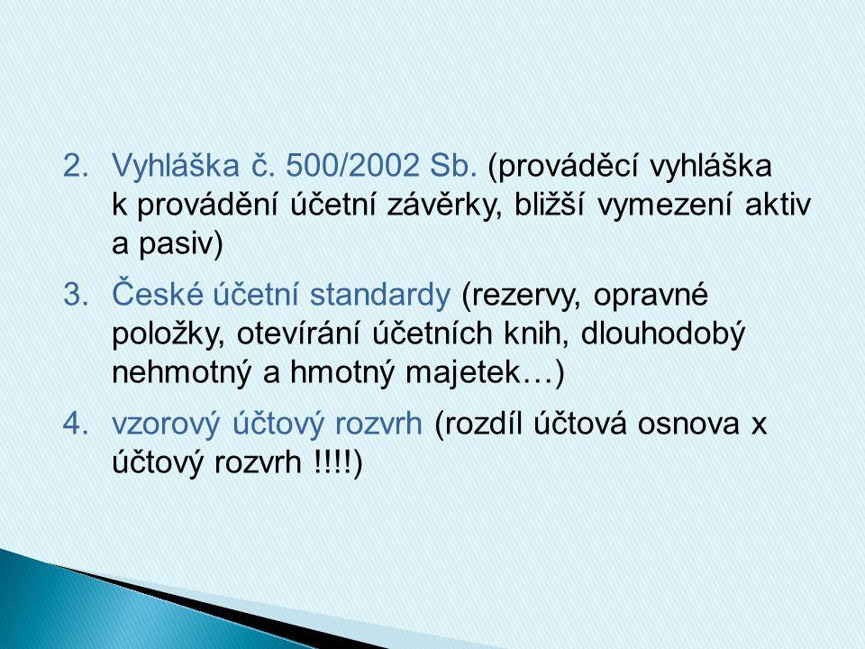 2.Vyhláška č.500/2002 Sb.