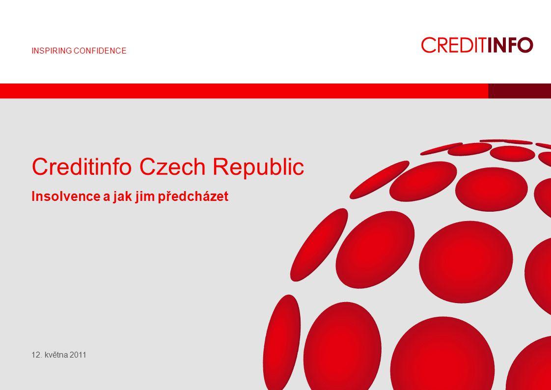 INSPIRING CONFIDENCE Creditinfo Czech Republic Insolvence a jak jim předcházet 12. května 2011