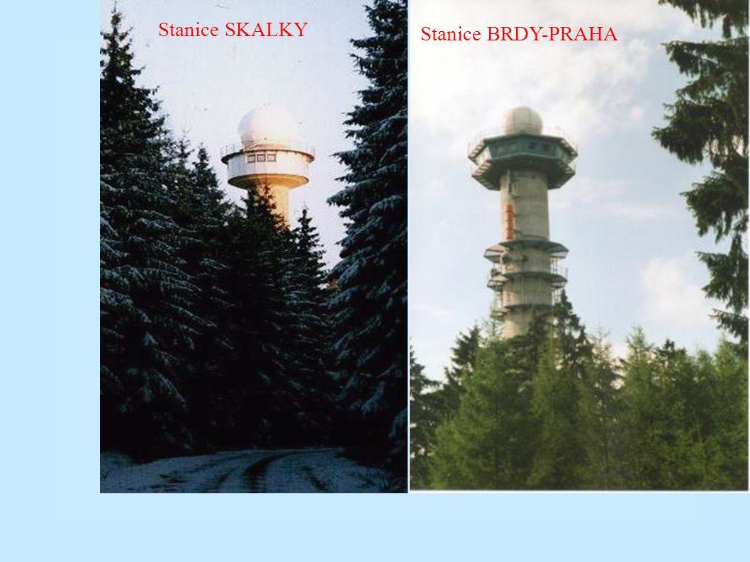 Poslední desetiletí - 1993-2003 - výsledky Výstavba automatické radiolokační sítě: 1993-95 projekce a výstavba radarové stanice Skalky u Boskovic; 199
