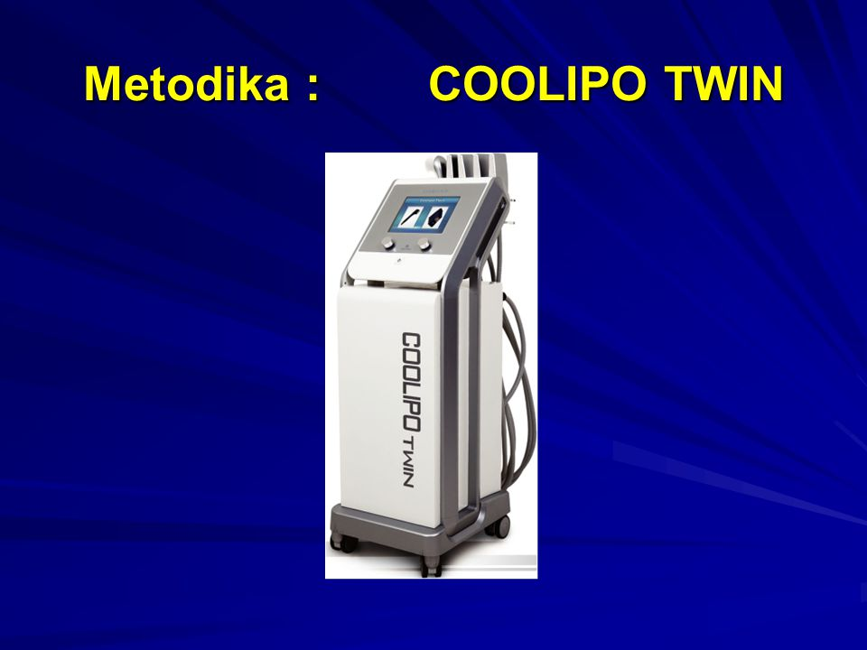 Metodika : COOLIPO TWIN
