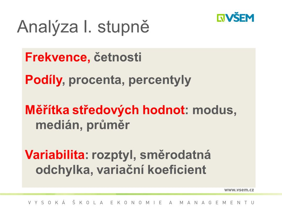 Analýza I.