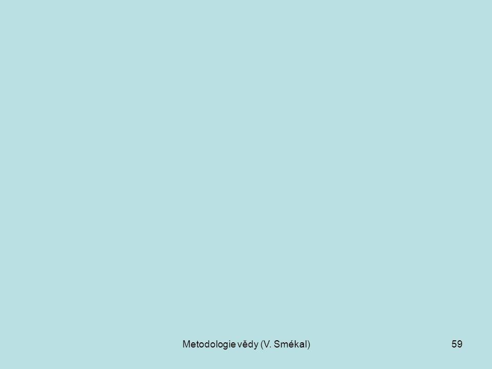 Metodologie vědy (V. Smékal)59