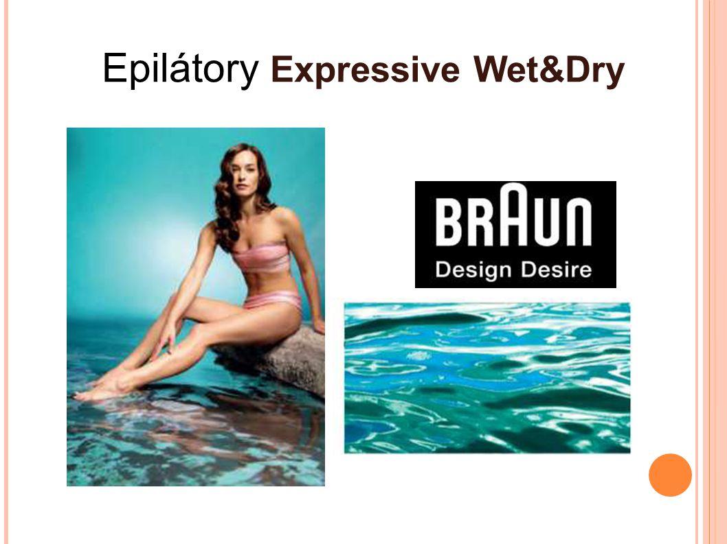 PROČ PRÁVĚ JEMNÁ EPILACE Inovovaný model Silk-épil Xpressive Wet & Dry je první epilátor od Brauna, který se dá použít na mokro ve vodě nebo běžně na sucho Možnost použití ve vodě minimalizuje bolestivost a nabízí dosud nejjemnější epilaci od Brauna.