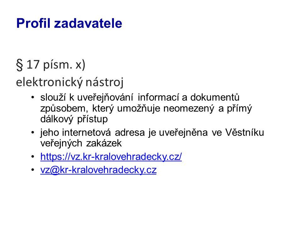 - informace o umožnění prohlídky místa plnění u zjednodušeného podlimitního řízení podle § 49 odst.