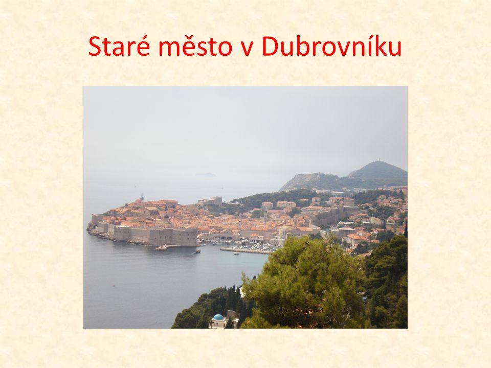Staré město v Dubrovníku