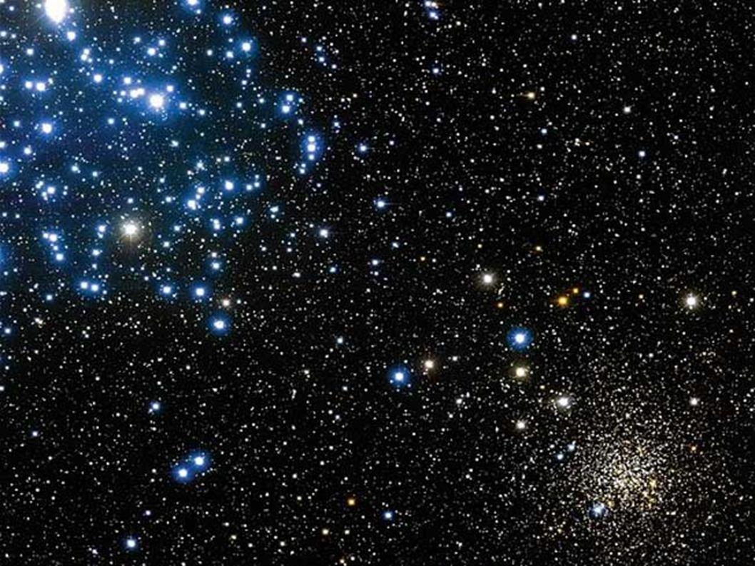Kulová hvězdokupa Statisíce až miliony hvězd Gravitační přitažlivost Neobsahují žádné těžší prvky a jsou proto velmi staré, nezřídka 12 až 13 miliard roků Vznikly z prvotního plynu – vodíku a hélia