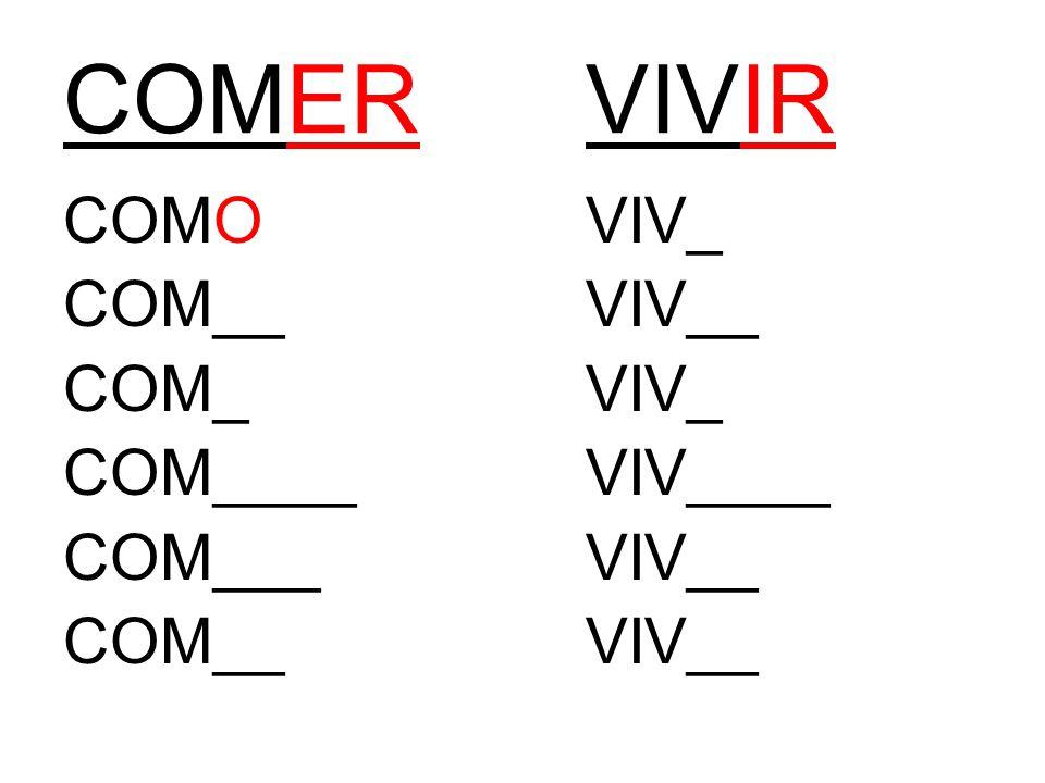 COMERVIVIR COMOVIV_ COM__VIV__ COM_VIV_ COM____VIV____ COM___VIV__ COM__VIV__